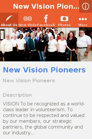 New Vision Pioneers