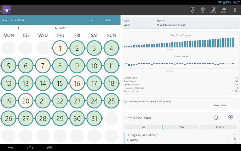 Habit Tracker Screenshot 8