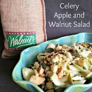 Celery, Apple, and Walnut Salad