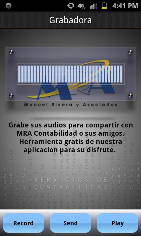 MRA Manuel Rivera y Asociados - screenshot