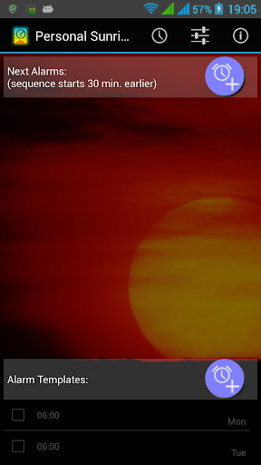Personal Sunrise - Alarm Clock
