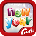 New Year theme TextCutie icon