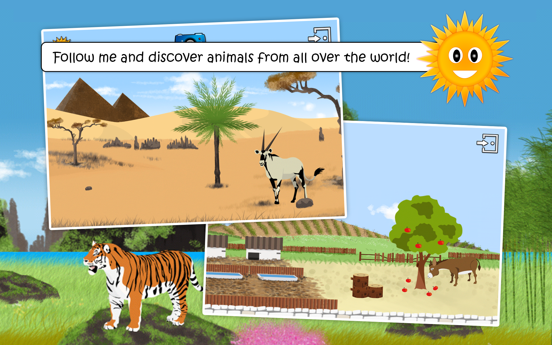 wildlife & farm animal for kid screenshot #11