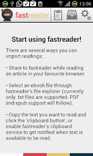 fast reader - screenshot thumbnail