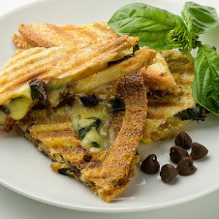 Chocolate Brie and Basil Panini Recipe