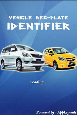 Vehicle Reg-Plate Identifier