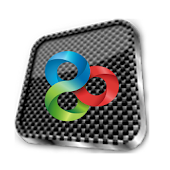 Go Launcher Theme Carbon 3D