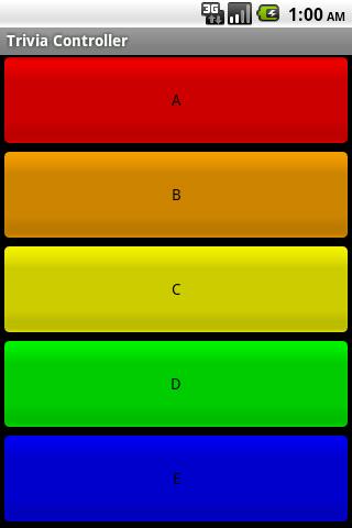 TriviaControl- screenshot