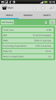 Screenshot of Weight Loss Tracker