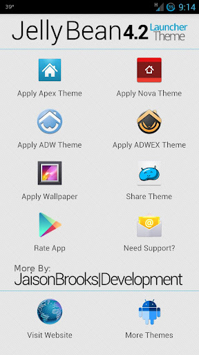 Jelly Bean 4.2 Theme v1.0 APK