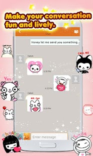 My Chat Sticker 2 for C free - screenshot thumbnail