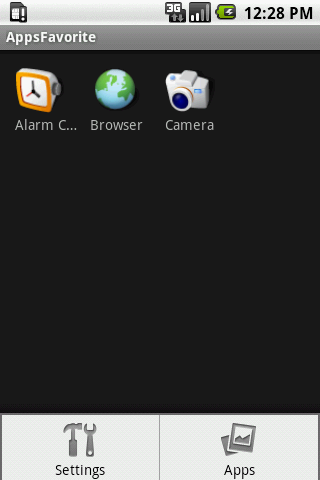 Apps Favorite- screenshot