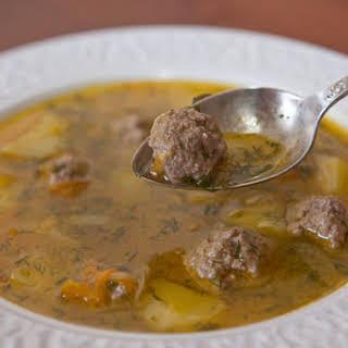 Meatball Soup.