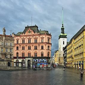 nám. Svobody by Miloš Stanko - Buildings & Architecture Other Exteriors ( město )