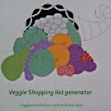 Veggie Shopping list generator icon