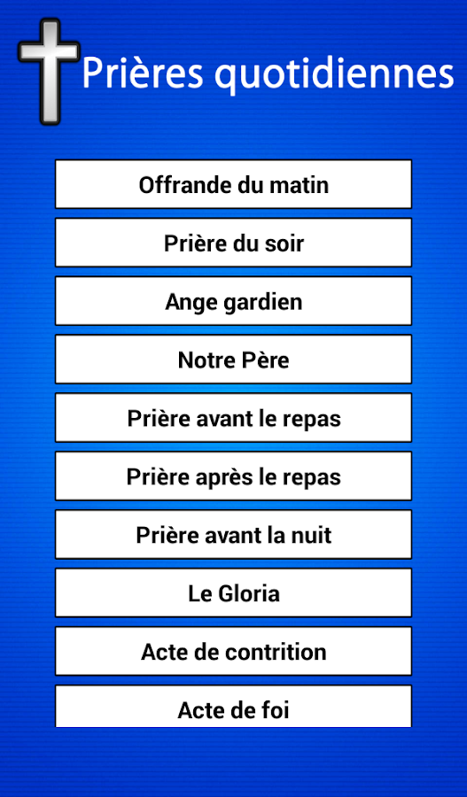 Bien-aimé Prières quotidiennes - Android Apps on Google Play ZQ81
