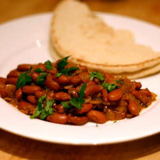 Punjabi Rajma (Kidney Bean and Tomato Curry)