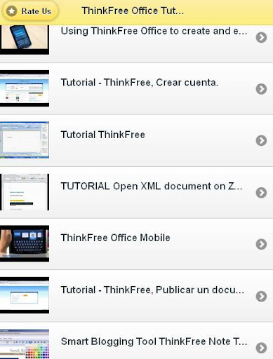 ThinkFree Tutorials