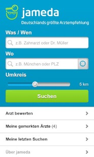 Arztsuche jameda - screenshot thumbnail