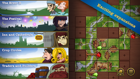 Carcassonne- screenshot thumbnail