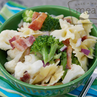 Sweet Broccoli Pasta Salad.