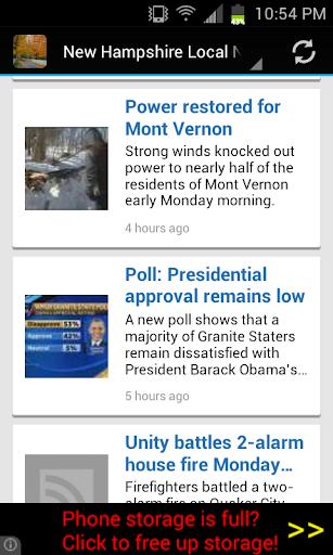 New Hampshire Local News