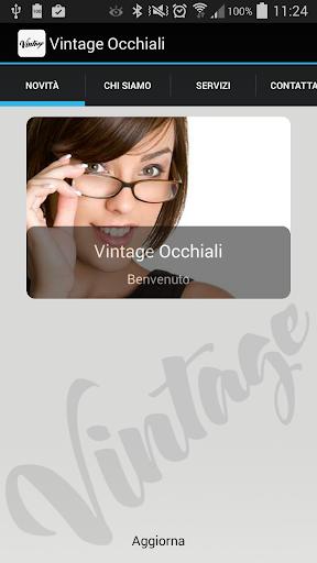 Vintage Occhiali