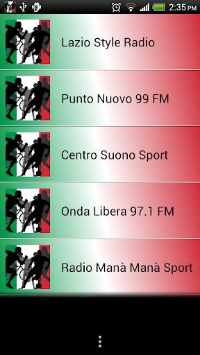 Italian Free Live Sports Radio