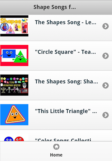 Shape Kids Songs