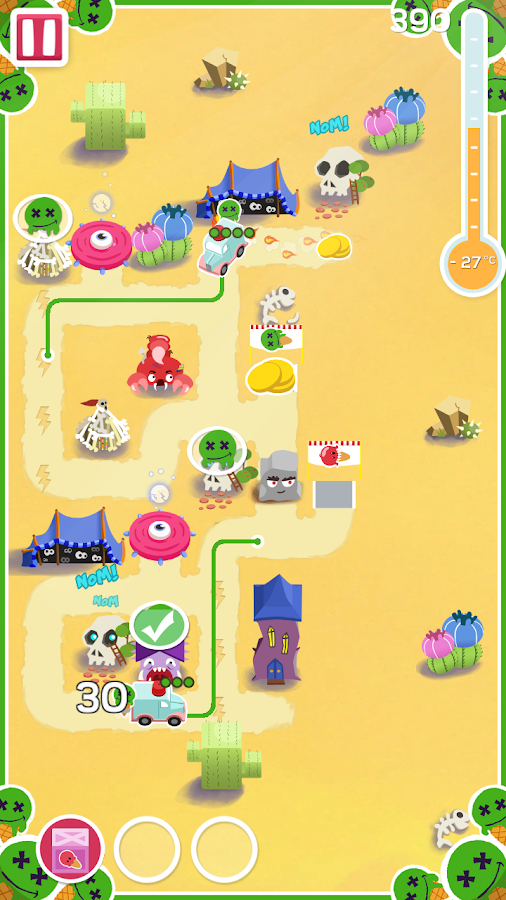 Ice Cream Nomsters- screenshot