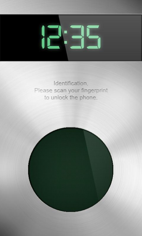 Fingerprint Scanner Locker - screenshot