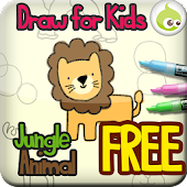 Draw for Kids, Jungle Animal