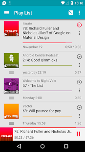 uPod Podcast Player – Trial - screenshot thumbnail