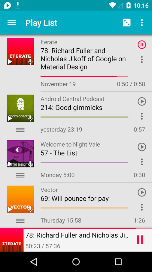 uPod Podcast Player – Trial - screenshot