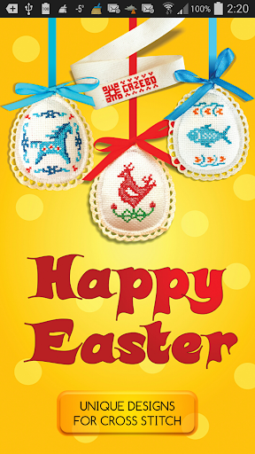 Easter Eggs 4CrossStitch