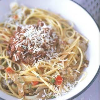Soort van Spaghetti bolognese