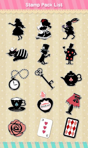 Stamp Pack: Alice Collection 1.2 Windows u7528 2