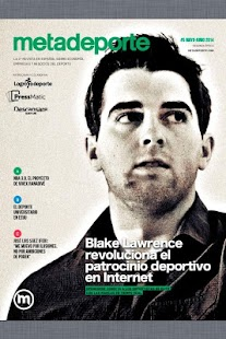 Metadeporte Magazine- screenshot thumbnail