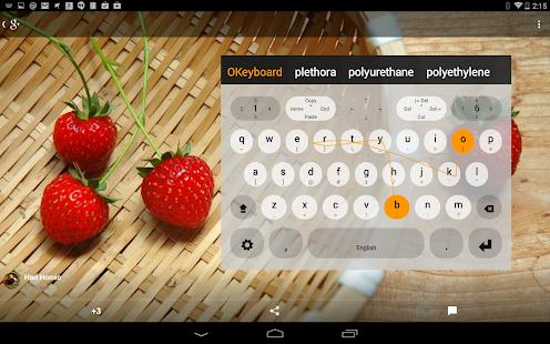 Multiling O Keyboard + emoji Screenshot