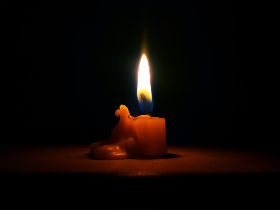 Light Alone by MOH BADRUTTAMAM SYAH - Artistic Objects Other Objects ( candle, low key, artistic objects, light, fire )