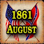 1861 Aug Am Civil War Gazette