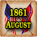 1861 Aug Am Civil War Gazette logo