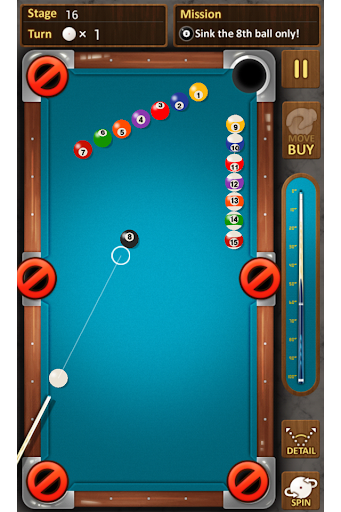 The king of Pool billiards  screenshots 2
