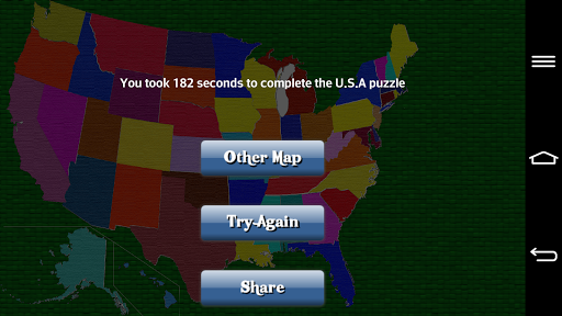 【免費教育App】U.S.A Map Puzzle(usa puzzle)-APP點子