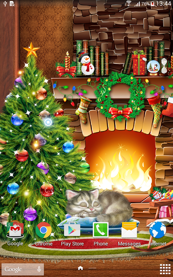 download 3d christmas live wallpaper free winterpriority