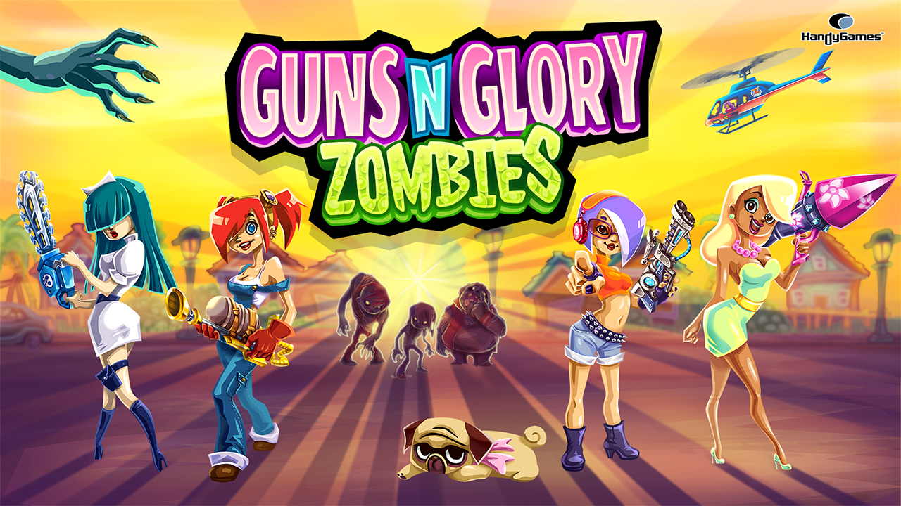 Guns'n'Glory Zombies- screenshot