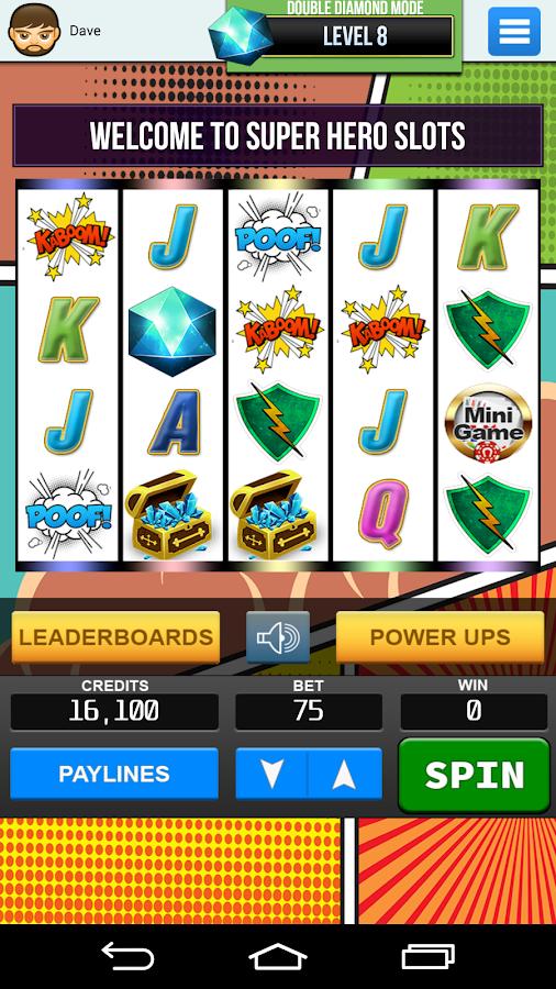 Play DC Super Heroes Slots at Casino.com UK