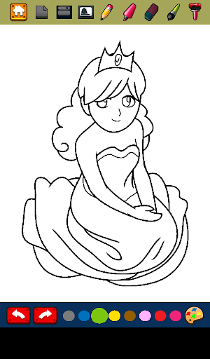 Princess Coloring Book Games