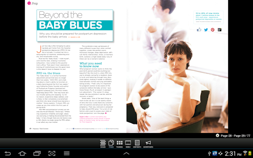 Pregnancy Magazine - screenshot thumbnail