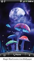 Screenshot of Magic Mushrooms Live Wallpaper